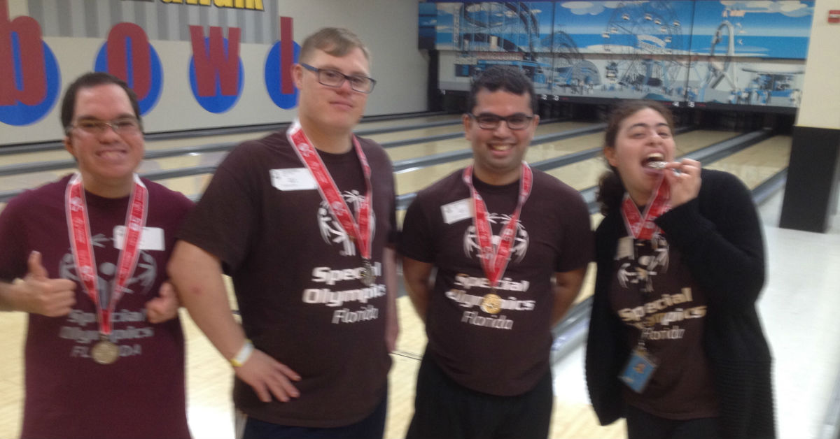 Special Olympics Update Bowling State Games