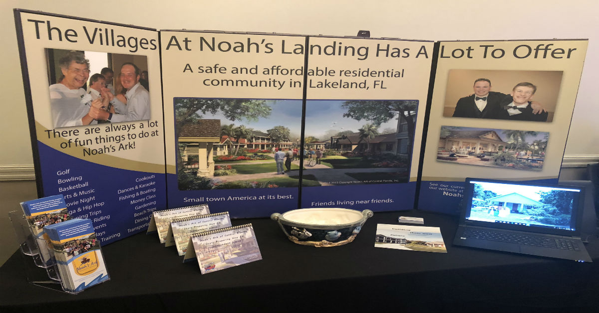 Noah's Ark attends Florida's Voice on Developmental Disabilities Conference