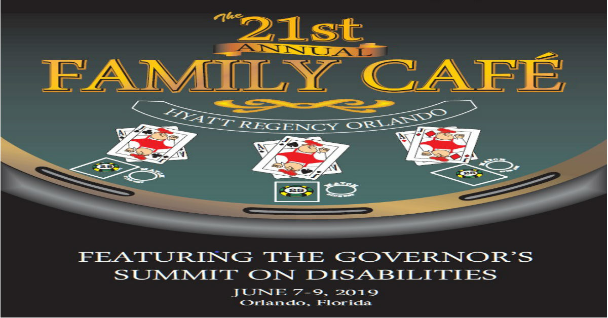 Online registration for The 21st Annual Family Cafe is now open!