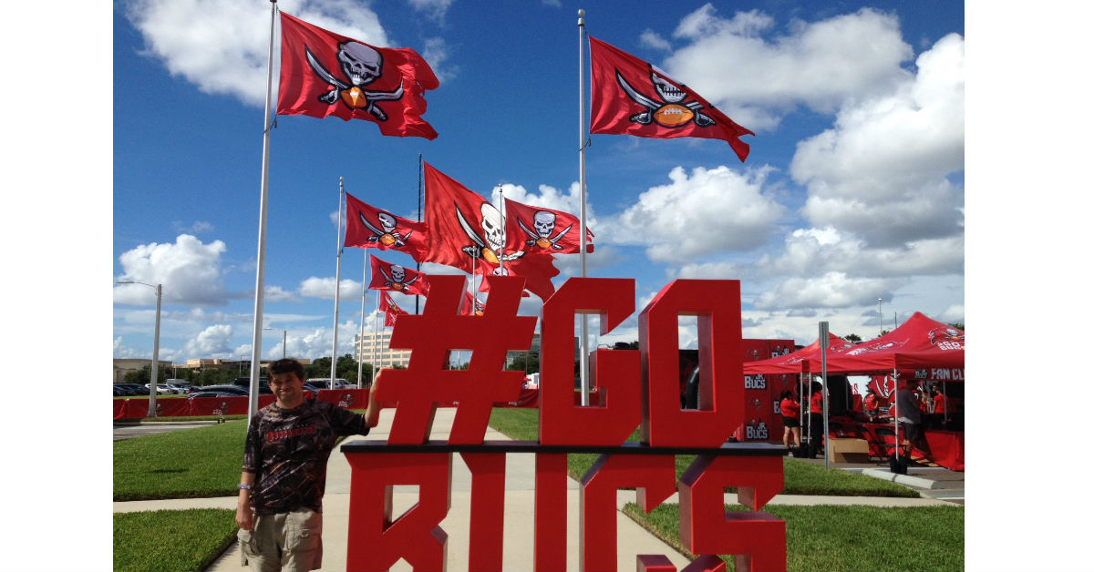 Tampa Bay Buccaneers host Special Olmpics Athletes