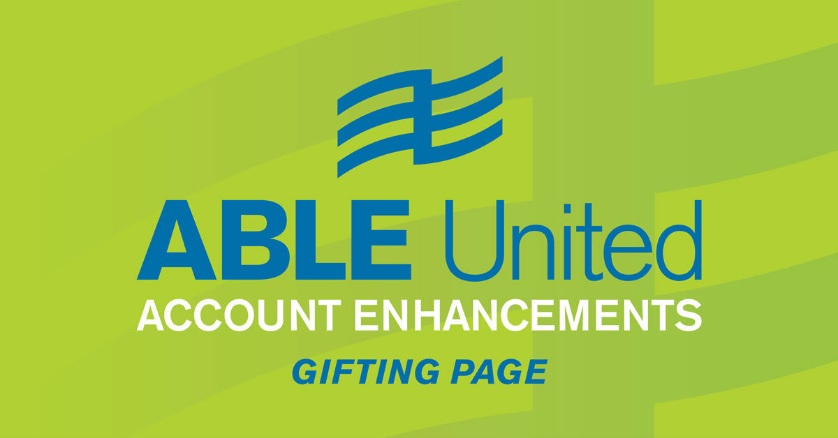 Living a Life with No Limits – a message from ABLE United