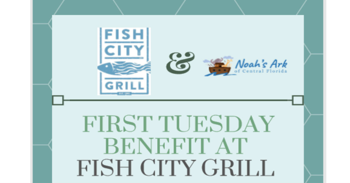 First Tuesday Benefit at Lakeland Fish City Grill