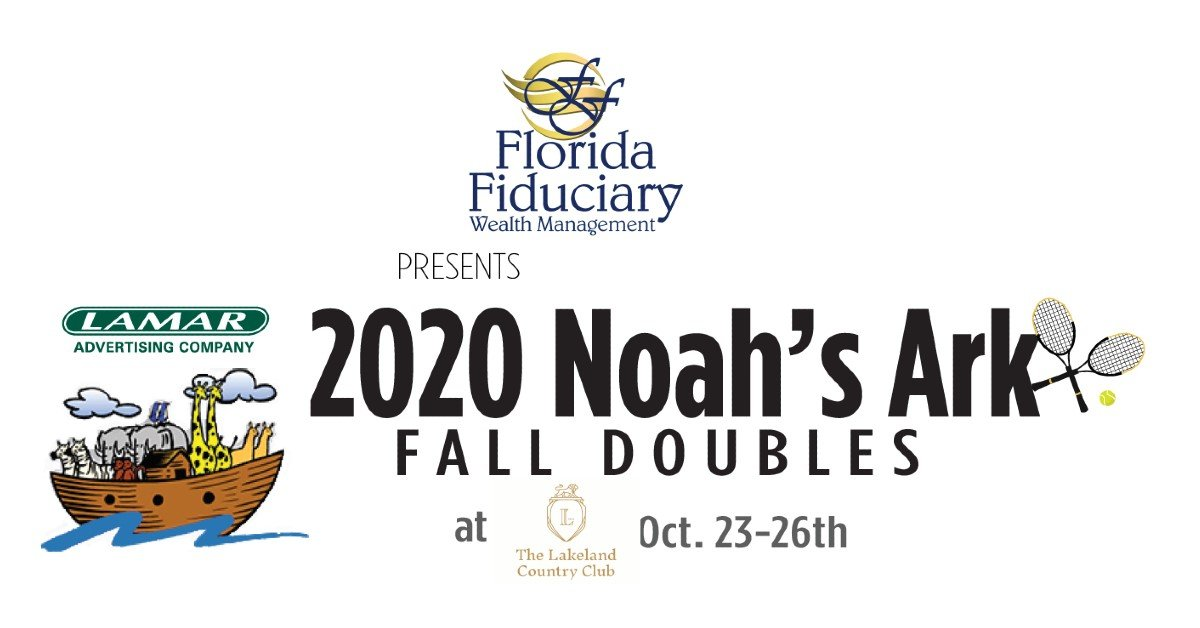 Noah's Ark Fall Doubles Tennis Tournament